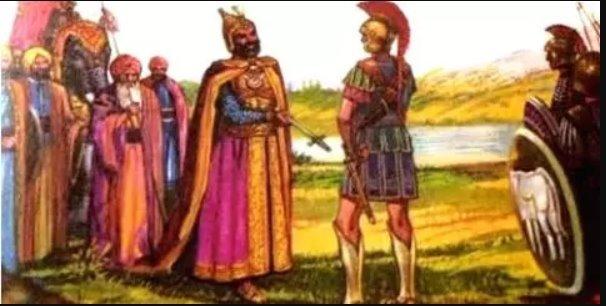 ਪੰਜ-ਆਬ ਦਾ ਪਹਿਲਾ ਬਾਦਸ਼ਾਹ ਪੋਰਸ